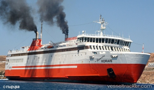 Passagierschiff Adamantios Korais IMO 8613607 by Flo60
