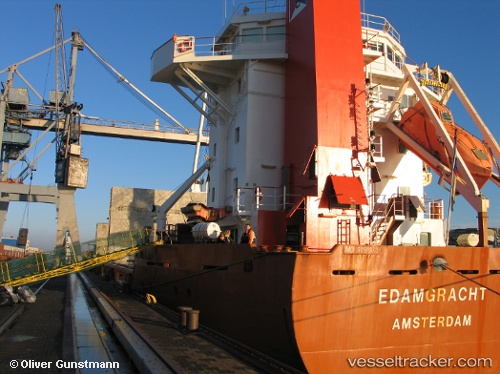 Cargo Ship Edamgracht IMO 9081370 by ibande95