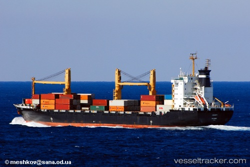 Cargo Ship Courier IMO 9101481 by master0163