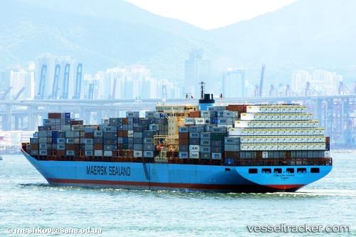 photo of the Caroline Maersk by master016