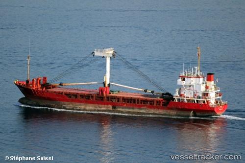 Cargo Ship Burak N IMO 8616582 by Benat
