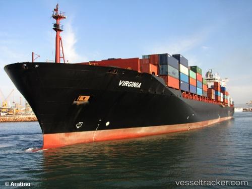 Cargo Ship Virginia IMO 9289568 by ARATINO