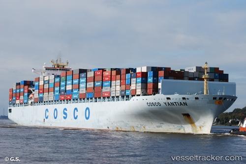 Cargo Ship COSCO Yantian IMO 9305594 by Opa-Oeli