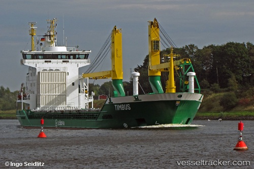 Frachtschiff Timbus IMO 9198680 by insel