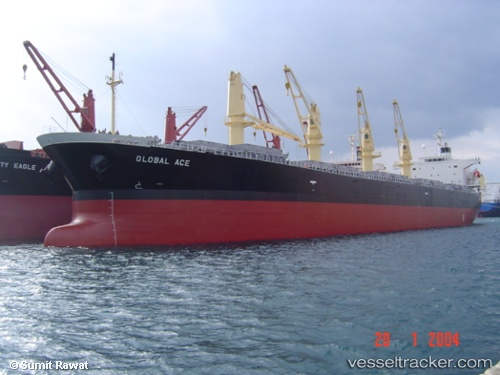 Cargo Ship Golden Ace IMO 9296767 by rawatsumit