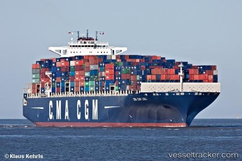 Frachtschiff Cma Cgm Leo IMO 9399208 by K51