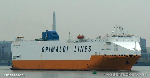 Frachtschiff Gran Bretagna IMO 9143702 by Sooi