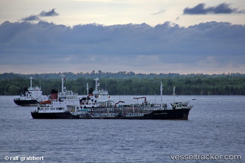 Танкер Arowana Liverpool IMO 8214451 by grabbi