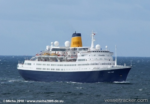 Passenger ship Saga Ruby IMO 7214715 by micha2010