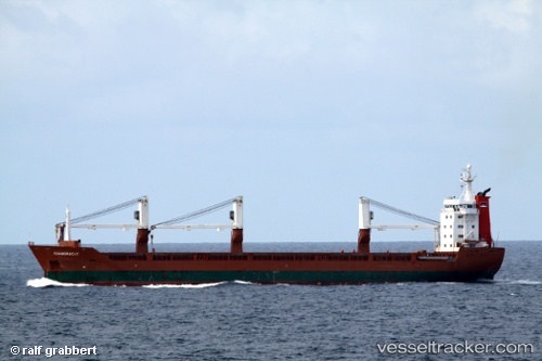 Cargo Ship Edamgracht IMO 9081370 by grabbi