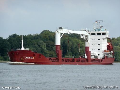 Buques de carga Akvile IMO 9113044 by tolli