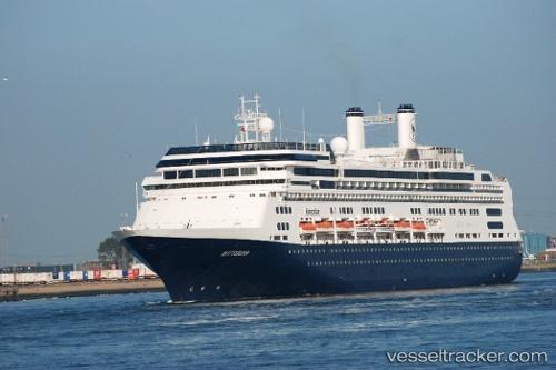 Passagierschiff Rotterdam IMO 9122552 by Rurijk