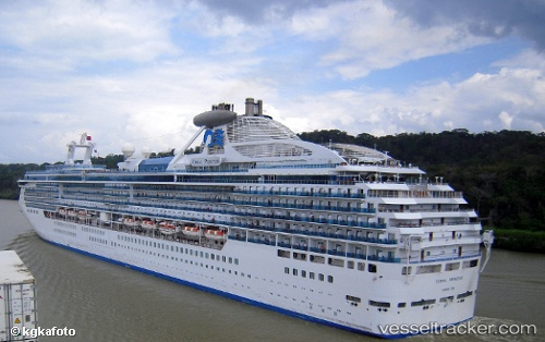 Passenger ship Coral Princess IMO 9229659 by bergedorf