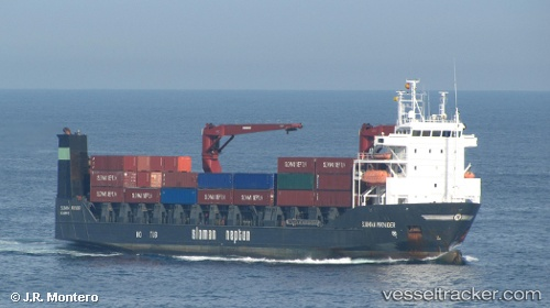 Cargo Ship Sparta II IMO 9160994 by Montero