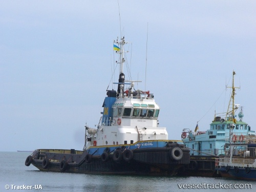 Tug Kuban Star IMO 8515295 by Tracker-UA