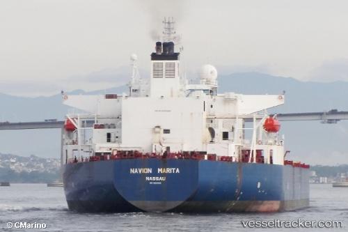 Tankship Navion Marita IMO 9200926 by CMarino