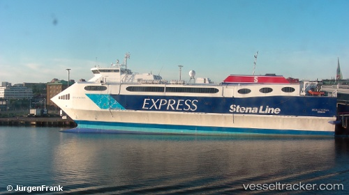 High-Speed Craft Stena Carisma IMO 9127760 by reinekefox