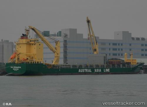 Aal Fremantle - 船舶の種類: 貨...