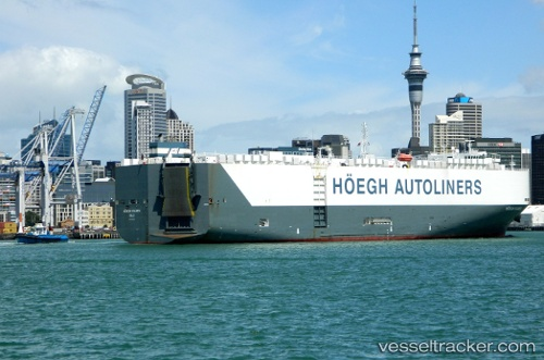 Cargo Ship Hoegh Xiamen IMO 9431848 by ngataringa