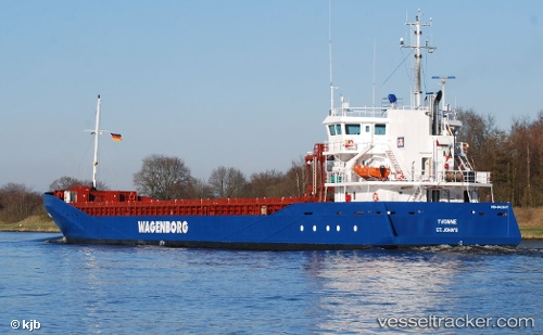 Cargo Ship Yvonne IMO 9423671 by armensee
