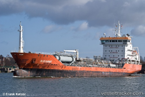 Buques petroleros Blue Garnet IMO 9404364 by Becks93