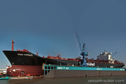 Cargo Ship Bonn Express IMO 8711368 by Rainer.N