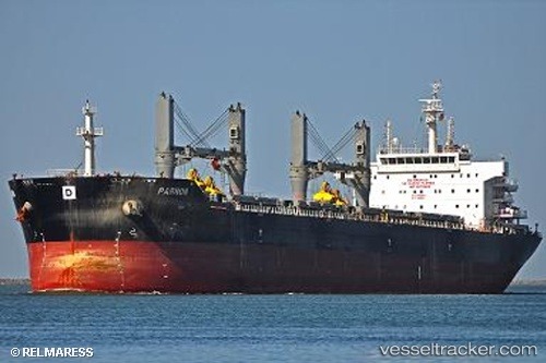 Cargo Ship Parnon IMO 9576569 by Maress1
