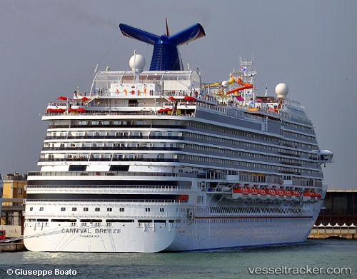Passenger ship Carnival Breeze IMO 9555723 by primodagosto