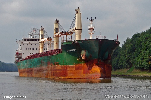 Cargo Ship Cinnamon IMO 9239800 by insel