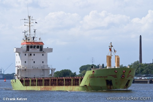 Cargo Ship Karin Lehmann IMO 9225574 by Becks93