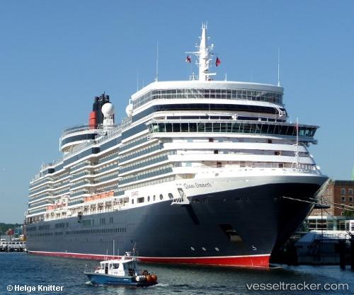 Queen Elizabeth  Schiffstyp Passagierschiff  Rufzeichen