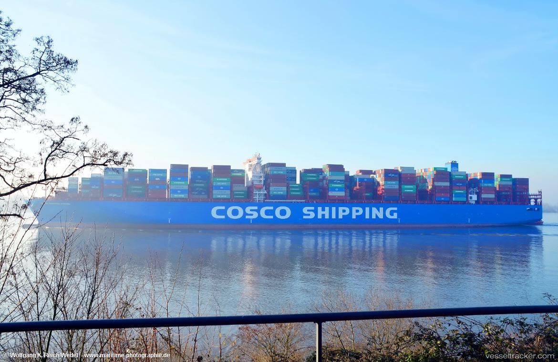COSCO PISCES Vessel Photos For Wreich