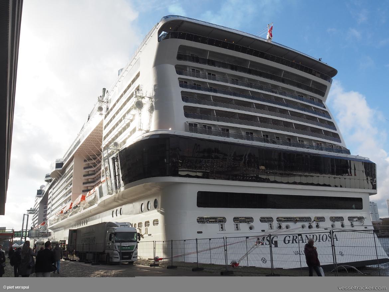 MSC GRANDIOSA Vessel photos for Piet-Verspui ...