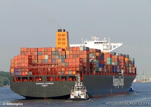 Shanghai Express - Cargo Ship, IMO 9501368, MMSI 218427000
