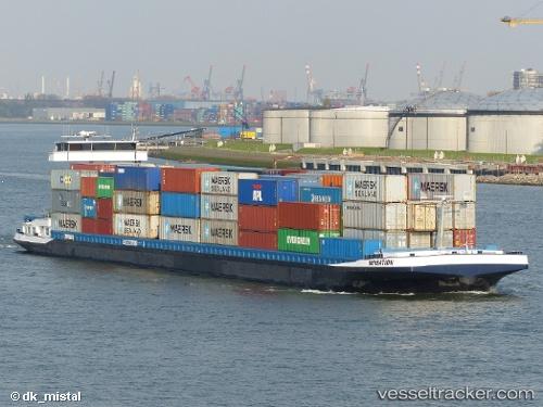 Image result for containerschip sensation