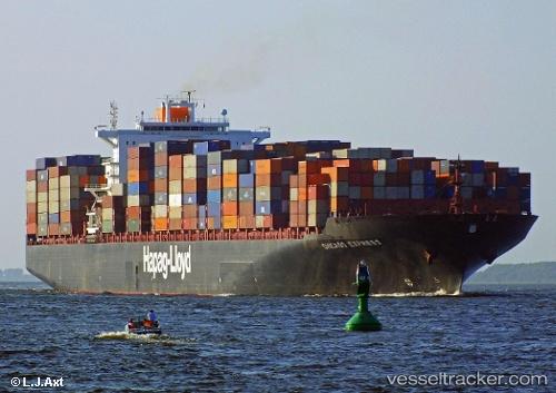 Chicago Express - Cargo Ship, IMO 9295268, MMSI 211839000