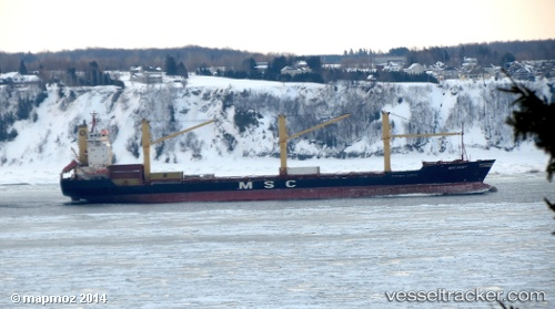 Cargo Ship, IMO 8905878, Callsign T8A3211, Flag