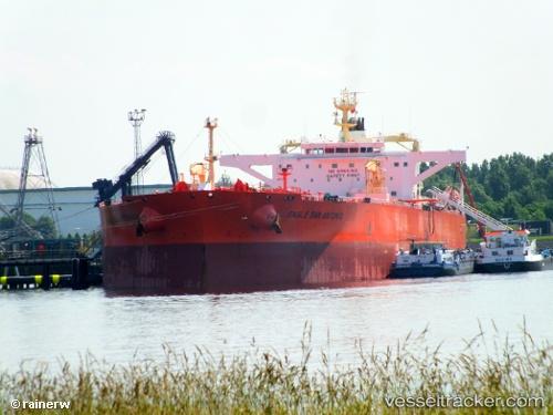 Tankship, IMO 9594822, MMSI 566453000