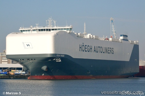 Hoegh Trigger - Cargo Ship, IMO 9684988, MMSI 258389000
