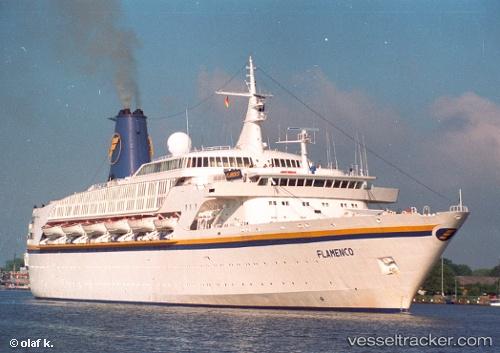 ocean dream passenger ship imo 7211517 rufzeichen 9ly2427