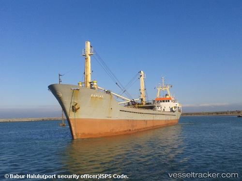 Cargo Ship, IMO 8827430, MMSI 374343000, Callsign