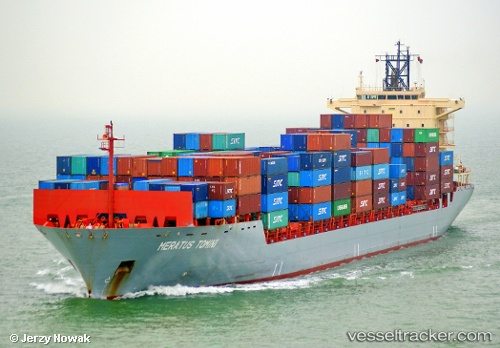 meratus tomini cargo ship imo 9374583 mmsi 525125006 callsign