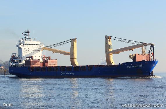 BBC Vesuvius - Cargo Ship, IMO 9508471, MMSI 305865000