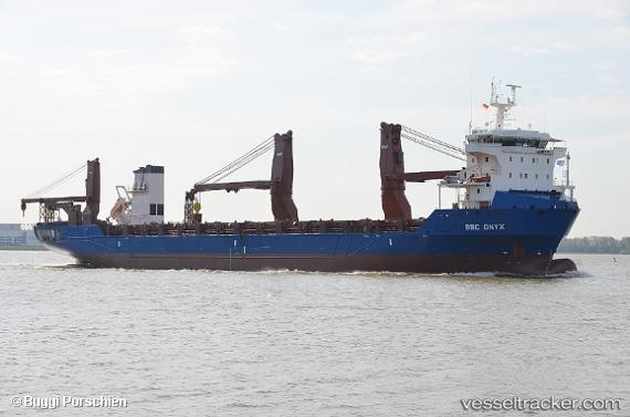 BBC Onyx - Cargo Ship, IMO 9506746, MMSI 305740000, Callsign