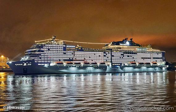 MSC Grandiosa - Passenger ship, IMO 9803613, MMSI ...