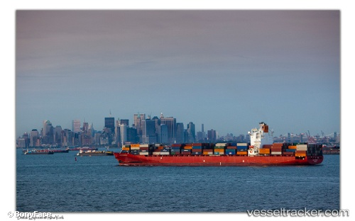 Seaspan Dubai - Cargo Ship, IMO 9301782, MMSI 477097400, Callsign