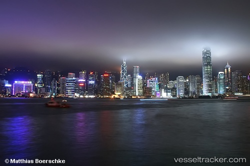 Port Of Hong Kong In China Vesseltracker Com
