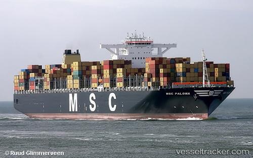 MSC Paloma - Cargo Ship, IMO 9441001, MMSI 371233000