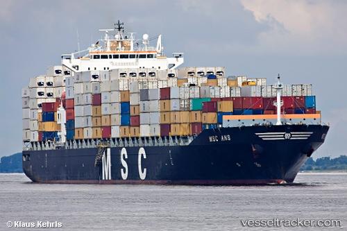 MSC Ans - Cargo Ship, IMO 9282261, MMSI 353873000, Callsign