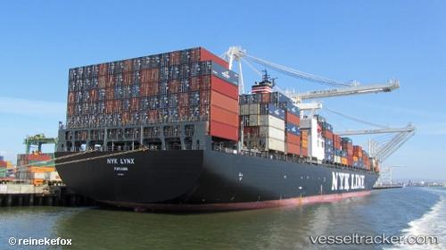 NYK Lynx - Cargo Ship, IMO 9229324, MMSI 351863000, Callsign